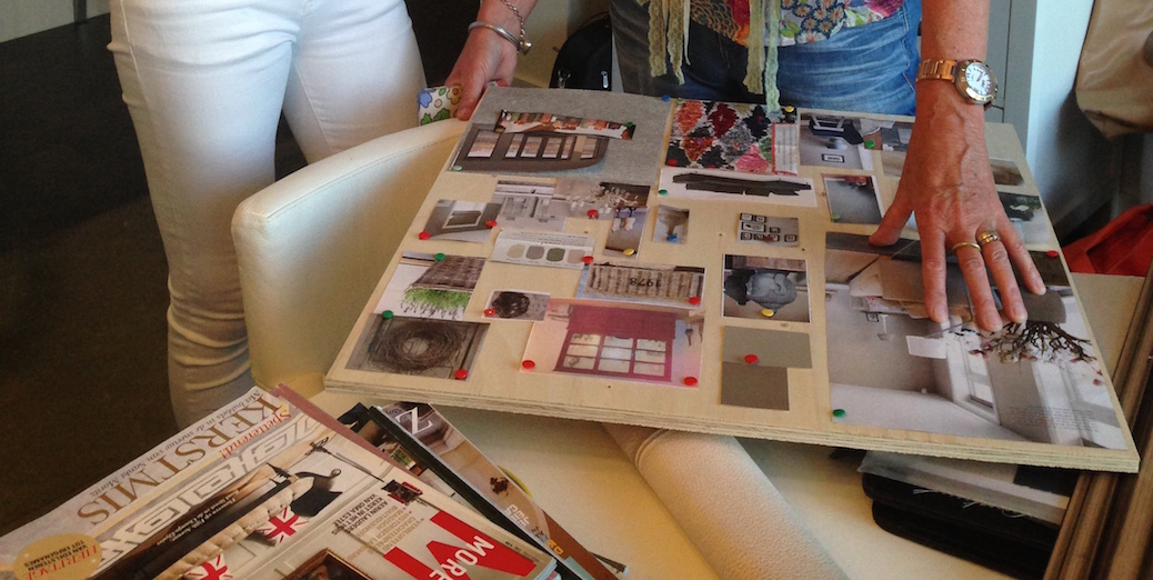 Workshop moodboard maken - \